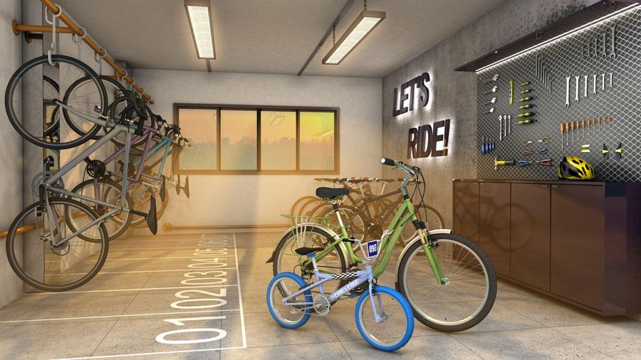 Unique_Bicicletário